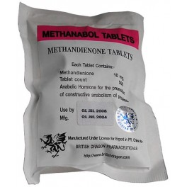 Methanabol 10mg Tablets British Dragon l Dianabol