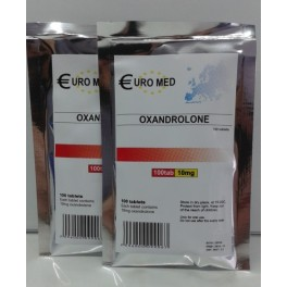 Oxandrolone 10mg (Anavar) Euromed 100 tablets (10mg/tab)
