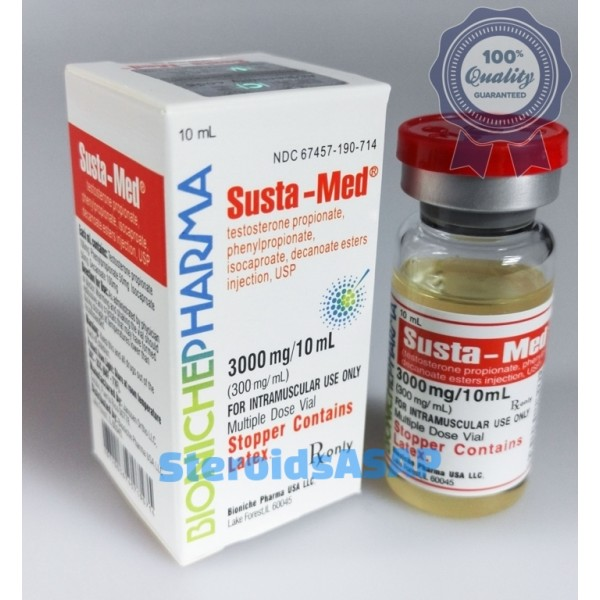 Susta-Med Bioniche Pharmacy (Sustanon) 10ml (300mg/ml