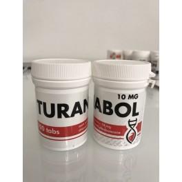 Turanabol DNA labs 100 tablets [10mg/tab]