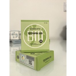 Testopin 100 BM Pharmaceuticals (Testoterone Propionate) 10ML