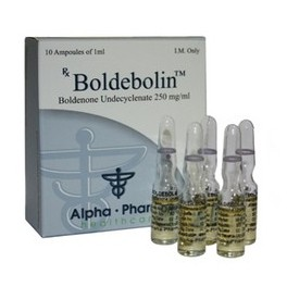 Alpha Pharma Boldebolin 250